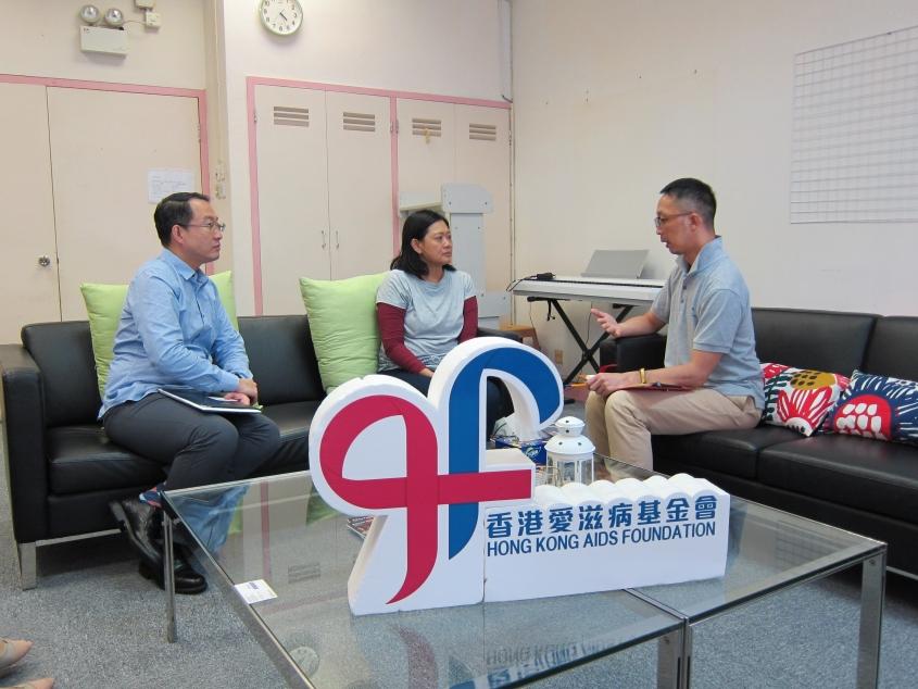 有关常居于香港的印度尼西亚籍人士感染HIV的专访