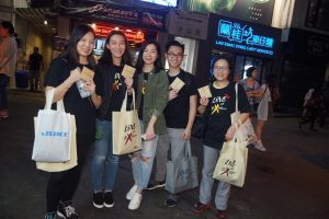 Volunteer outreach in LKF